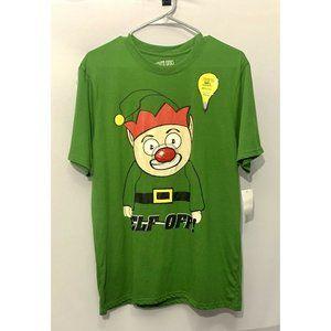 "Men's ""Elf Off"" Light-Up T-Shirt, LG - NWOT"